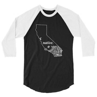 California Native Bandana Print Custom Baseball Shirt