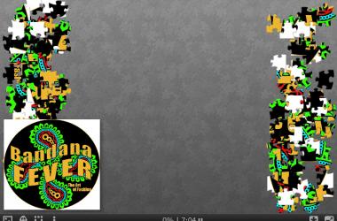 Bandana Fever Logo Jigsaw Puzzle