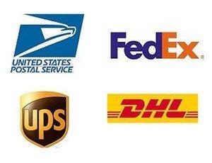 Bandana Fever ships via FedEx DHL USPS UPS