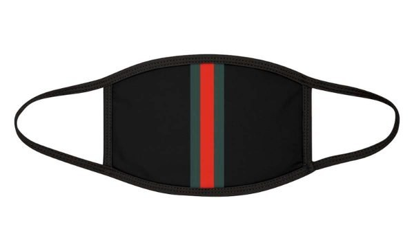 Gucci Custom Face Mask Black by BandanaFever.com