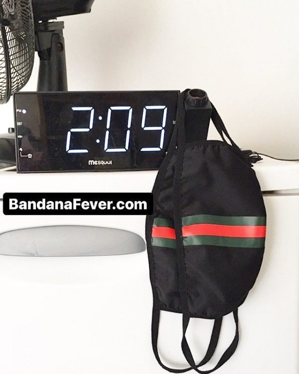 Gucci Time Custom Face Mask by BandanaFever.com