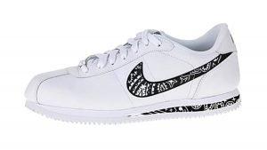 Black Bandana Custom Nike Cortez Shoes LWB Swoosh Soles by BandanaFever.com