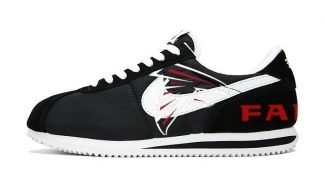 Atlanta Falcons Custom Nike Cortez Shoes NBW at BandanaFever.com