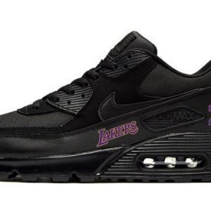 LA Lakers Kobe Custom Nike Air Max Shoes Black at BandanaFever.com