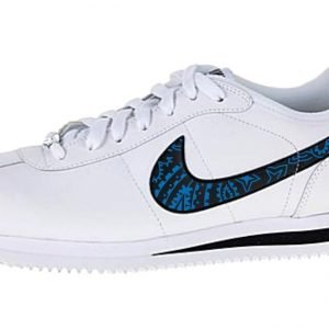 Detroit Lions Blue Bandana Custom Nike Air Cortez Shoes at BandanaFever.com