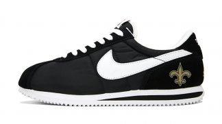 NOLA Saints Mini Custom Nike Cortez Shoes NBW by BandanaFever.com