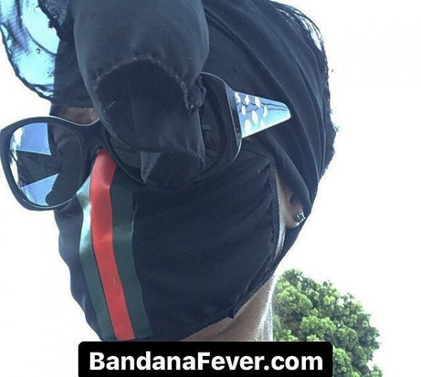 Bandana Fever Gucci Custom Face Mask at BandanaFever.com