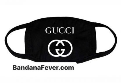 Bandana Fever Gucci Interlocking GG Custom Face Mask at BandanaFever.com