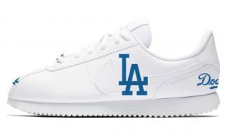 LA Dodgers Custom Nike Cortez Shoes LWG by BandanaFever.com