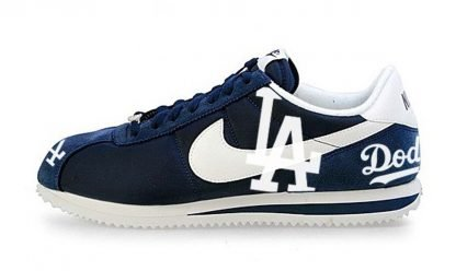 LA Dodgers Custom Nike Cortez Shoes by BandanaFever.com