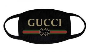 Gucci Retro Custom Face Mask Black by BandanaFever.com