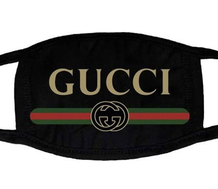 Gucci Retro Custom Face Mask Black