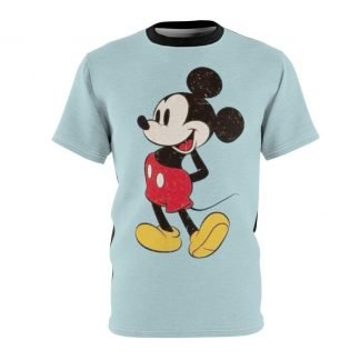 Mickey Custom T-Shirt SS Carolina/Black at BandanaFever.com