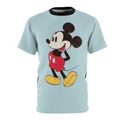 Mickey Custom T-Shirt SS Carolina/Black at BandanaFever.com