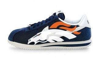 Broncos Big Custom Nike Cortez Shoes NNW by BandanaFever.com