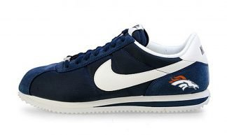 Broncos Mini Custom Nike Cortez Shoes NNW by BandanaFever.com