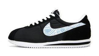 Carolina Blue Bandana Custom Nike Cortez Shoes Swoosh NBW by BandanaFever.com