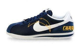 LA Chargers Custom Nike Cortez Shoes NNW Heels by BandanaFever.com
