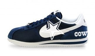 Dallas Cowboys Custom Nike Cortez Shoes NNW Heels by BandanaFever.com