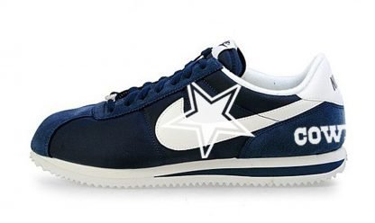 Dallas Cowboys Custom Nike Cortez Shoes NNW Heels by BandanaFever.com