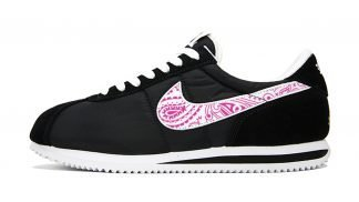 Fuchsia Bandana Custom Nike Cortez Shoes Swoosh NBW by BandanaFever.com