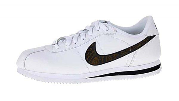Brown Bandana Custom Nike Cortez Shoes Swoosh LWB by BandanaFever.com