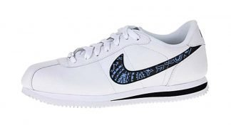 Carolina Blue Bandana Custom Nike Cortez Shoes Swoosh LWB by BandanaFever.com