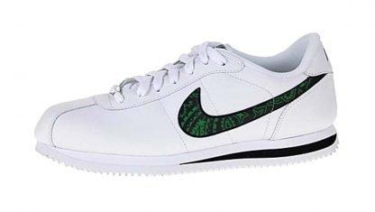 Green Bandana Custom Nike Cortez Shoes Swoosh LWB by BandanaFever.com