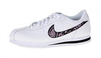 Pink Bandana Custom Nike Cortez Shoes Swoosh LWB by BandanaFever.com