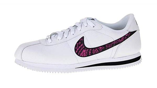 Fuchsia Bandana Custom Nike Cortez Shoes Swoosh LWB by BandanaFever.com