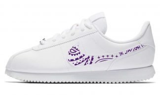 Purple Bandana Custom Nike Cortez Shoes LWG Swoosh by BandanaFever.com