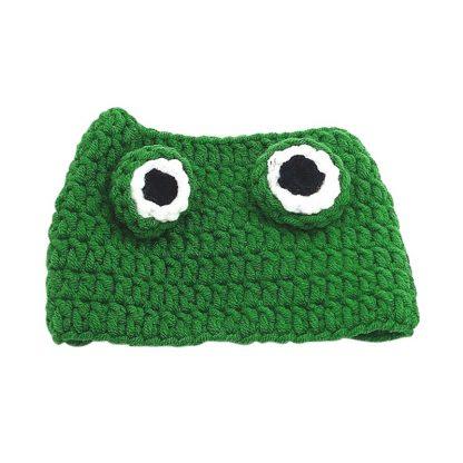 Frog Design Custom Pet Cap Green Top by BandanaFever.com