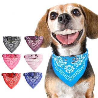 Bandana Custom Dog Collars Cat Collars - 7 Color by BandanaFever.com