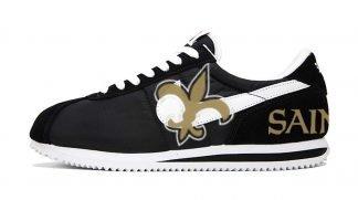 NOLA Saints Custom Nike Cortez Shoes NBW by BandanaFever.com
